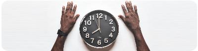 Houdt de tijd in de gaten