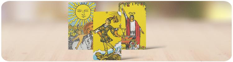 Betekenis Grote Arcana Tarot Kaarten
