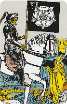 Tarot kaart de Dood