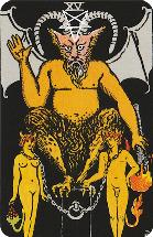 Tarot kaart de duivel