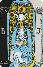 Betekenis Grote Arcana Tarot Kaarten - De Hogepriesteres