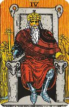 Tarot kaart de Keizer