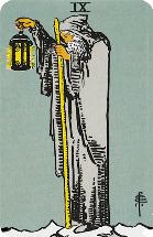 Tarot kaart de Kluizenaar