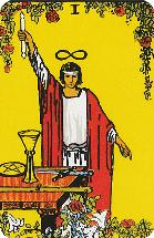 Betekenis Grote Arcana Tarot Kaarten - De Magiër