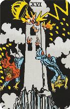 Tarot kaart de Toren