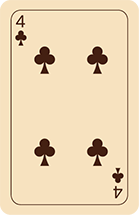 Cartomancy Klaveren Vier