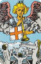 Betekenis Grote Arcana Tarot Kaarten - Tarot kaart Oordeel